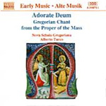 Adorate Deum: Gregorian Chant Mass Propers (CD)