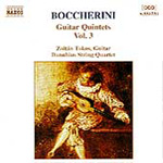 Boccherini: Guitar Quintets, Volume 3 (CD)