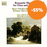 Produktbilde for Romantic Music for Flute and Harp (UK-import) (CD)