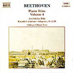 Beethoven: Piano Trios, Volume 4 (CD)