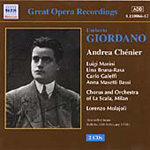 Produktbilde for Giordano: Andrea Chénier (USA-import) (CD)