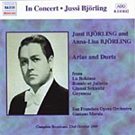 Jussi and Anna-Lisa Bjorling sing Opera Arias (CD)