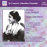 Dussolina Giannini sings Arias and Duets (CD)