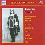 The Gigli Edition, Vol. 10: Milan and London Recordings 1938-1940 (CD)