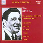 Tito Schipa Edition, Vol 2 - The Complete Recordings 1924-25, Vol 2 (CD)
