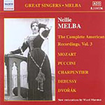 Nellie Melba - The Complete American Recordings, Vol 3 (CD)