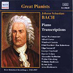 Bach: Piano Transcriptions (CD)