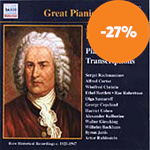 Produktbilde for Bach: Piano Transcriptions (CD)