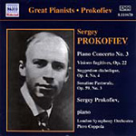 Prokofiev: Piano Concerto No 3 (CD)