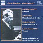 Great Pianists - Benno Moiseiwitsch Vol 7 (CD)
