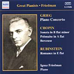 Great Pianists - Ignaz Friedman (CD)