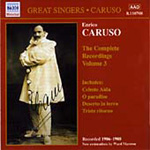 Enrico Caruso - Complete Recordings, Volume 3 (CD)