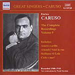 Caruso - The Complete Recordings, Volume 5 (CD)