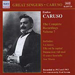 Caruso The Complete Recordings, Vol 7 (CD)