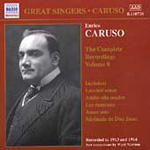Enrico Caruso - The Complete Recordings, Volume 8 (CD)