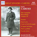 Great Singers - Caruso Vol 10 (CD)