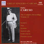 Enrico Caruso - Complete Recordings, Vol 12 (CD)