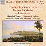 Italian Popular Songs Vol 1 (CD)