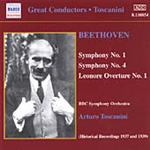 Beethoven: Symphony Nos 1 & 4 (CD)