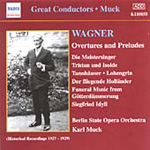 Karl Muck conducts Wagner (CD)