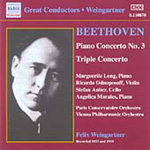 Beethoven: Piano Concerto No 3; Triple Concerto (CD)