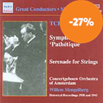 Tchaikovsky: Symphony No 6; Serenade for Strings (CD)
