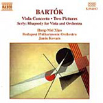 Bartók/Serly: Works for Viola and Orchestra (CD)