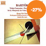Produktbilde for Bartók/Serly: Works for Viola and Orchestra (CD)