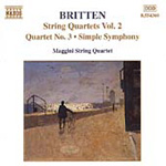 Britten: String Quartets, Vol 2 (CD)