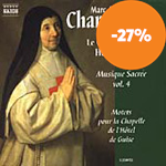 Produktbilde for Charpentier, M-A: Sacred Music, Vol 4 (CD)