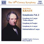 Kraus: Symphonies, Vol 2 (CD)