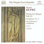 Dupré: Organ Works, Vol 13 (CD)