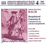 Bach: Harpsichord Concertos, Volume 2 (CD)