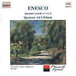 Enescu: String Quartets Nos. 1 & 2 (CD)
