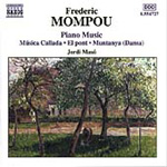 Mompou: Piano Music, Vol 4 (CD)