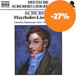 Produktbilde for Schubert: Mayrhofer-Lieder, Volume 1 (CD)