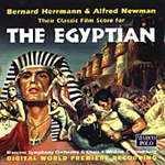Herrmann/Newman: The Egyptian (CD)