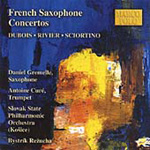 Dubois.Rivier.Sciortino: French Saxophone Concertos (CD)