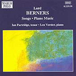 Berners: Songs and Music for Solo Piano (CD)