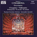 Cimarosa: Overtures, Volume 1 (CD)