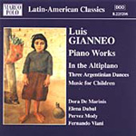 Gianneo: In the Altiplano; 3 Argentinian Dances; Music for Children (CD)