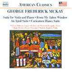 McKay: Chamber Works (CD)