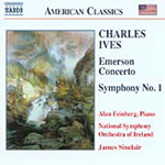 Ives: Symphony No 1; Emerson Concerto (CD)