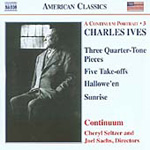 Ives: Chamber and Vocal Works (CD)