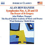 Hovhaness: Symphonies Nos 4, 20 and 53 (CD)