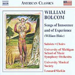 Bolcom: Songs of Innocence and of Experience (CD)