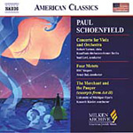 Schoenfield: Viola Concerto (CD)