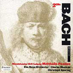 Bach/Mendelssohn: St Matthew Passion (CD)