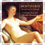 Monteverdi: Madrigals, Book 8 (CD)