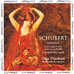 Schubert: Piano Sonatas Nos 6 and 13; Impromptus Nos 3 and 4 (CD)